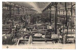 CPA-61-FLERS-Orne-Tissage-de-la-Planchette-Salle-de-Tissage-b