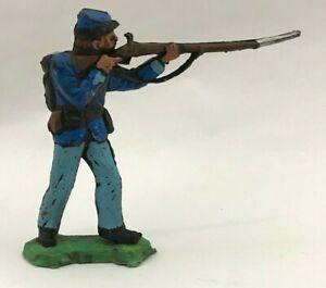 XILOPLASTO-Soldatini-Confederato-Sudista-Nordista-landi-1-32-toy-soldier-gomma