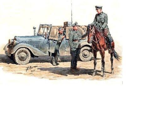 "Saynète /""MESSAGE URGENT/"" Armée Allemande REF 35151 1941 KIT MASTER BOX 1//35"