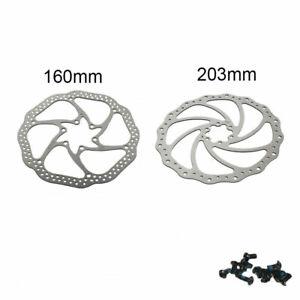 160-203mm-Bike-Brake-Rotor-MTB-Road-Bicycle-Brake-Disc-6-bolt-For-Shimano-Sram
