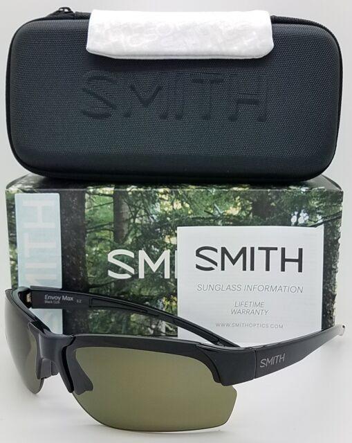 5478ddc594 NEW Smith Envoy Max sunglasses Black Grey Green ChromaPop Polarized  189 m  frame