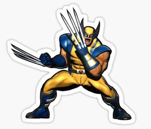 X-Men Wolverine old man Logan Mutant Yellow comic Sticker decal car laptop movie
