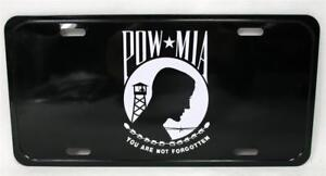 POW MIA You Are Not Forgotten Auto Car Truck Metal Novelty Tag License Plate