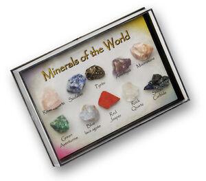 Diplomatique Gem Stone & Rock Box Fab Educational Géologie Nature Cadeau Pour Le Collectionneur-afficher Le Titre D'origine Dans Beaucoup De Styles