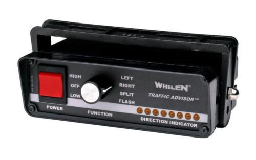 NEW Whelen TACTRL1A halogen traffic advisor control head for arrowstick lightbar