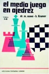 Libro-El-medio-juego-en-ajedrez-tomos-I-II-de-Max-Euwe