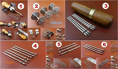 7kind Leathercrafts Automatic Lock Speedy Stitcher Awl Thread Bobbin Needle Tool