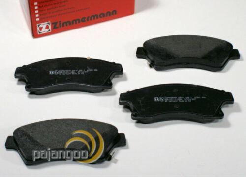 Mazda CX-5 Zimmermann Bremsbeläge Bremsklötze für vorne die Vorderachse