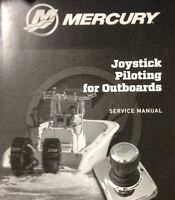 Mercury Joystick Piloting For Outboards Service Manual Outboard Boat Motor