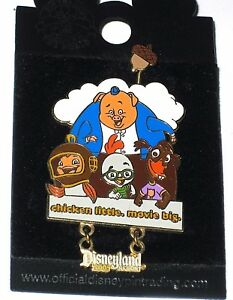 Le Disney Pin Chicken Little Big Movie Opening Day Abby Mallard