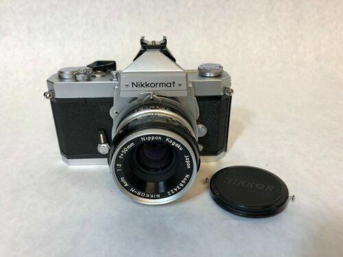New Light Seals! Aetna Rokunar MC 28mm f2.8 Wide Angle Lens,Circa 1967-1975 Vintage NIKKORMAT FTN 35mm Single-Lens-Reflex Film Camera