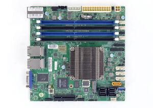 Details about Supermicro A2SDi-16C-HLN4F Motherboard Mini-ITX Atom C3955  IPMI FULL WARRANTY