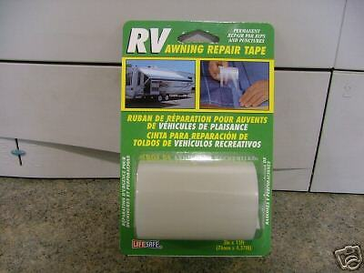 Top Tape RE3848 3 inch x 15 feet RV Awning Repair Tape