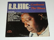 B.B. KING confessin the blues Lp RECORD PROMO BB KING BLUES MONO 1965 *RARE!