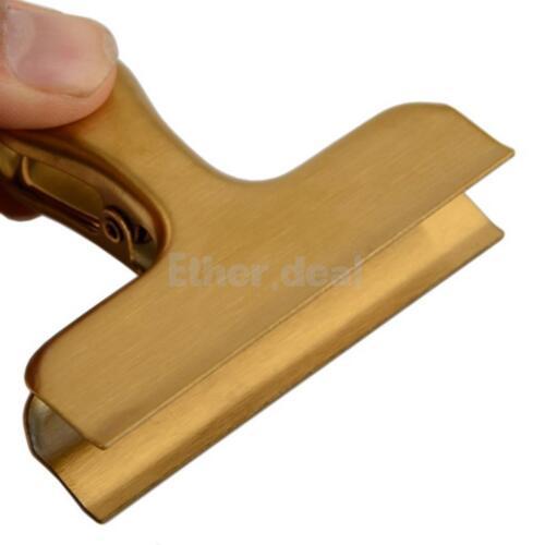 Verschlussklammern 9 stück Edelstahl Clip Verschlussclip aus Metall