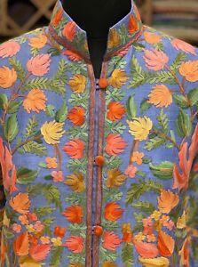 For Women Embroidered Jackets Jacket Woman Bohemian Coats Coat Kashmiri Long t4wxRR