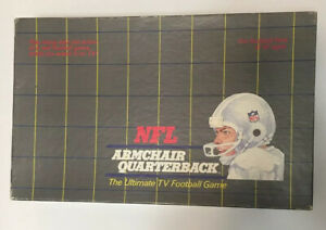 Vintage 1986 NFL ARMCHAIR QUARTERBACK Ultimate TV Football ...
