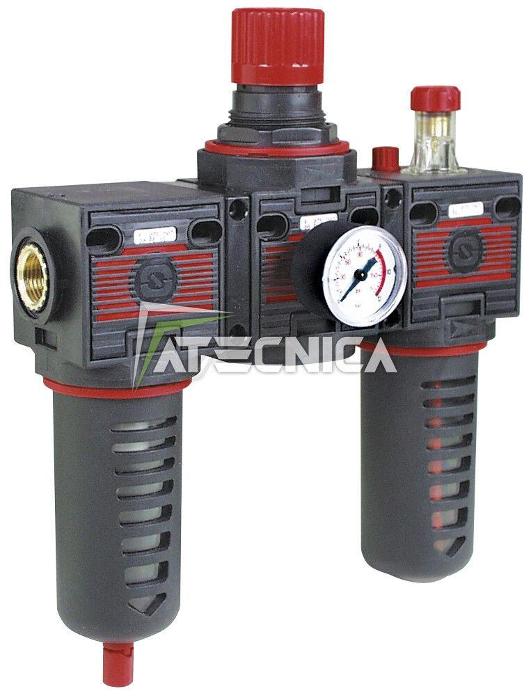 Groupe modulaire Fiac 920/12 composé de filtre + régulateur pression 450 l/min