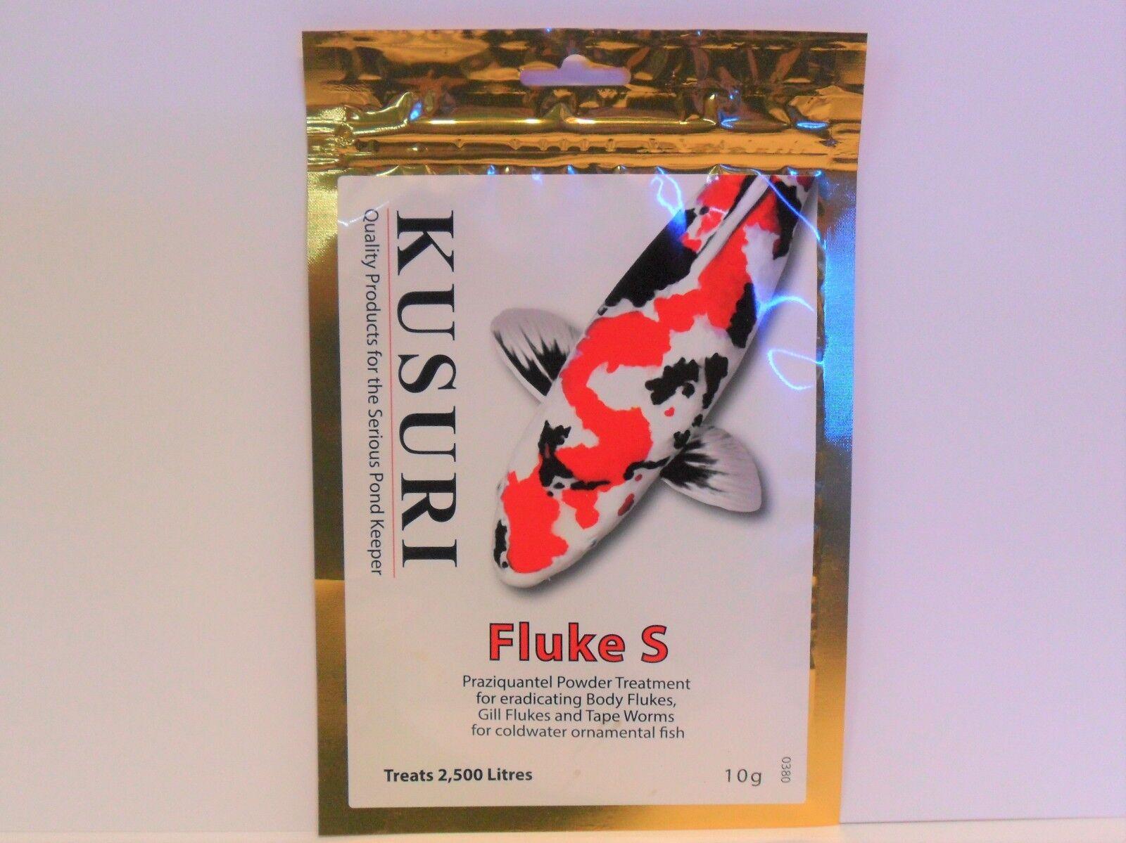Kusuri FLUKE-S 10g 50g And 100g Gill und Körper Fluke Fluke Fluke Behandlung Koi-Teich Fisch 53ec9d
