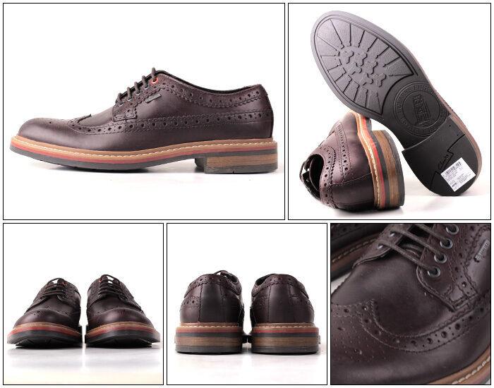 Clarks Herren  Darby Limit GTX  Chestnut Lea  Trendy,Smart  UK 7 9 10 11
