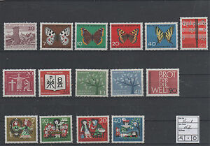 Germany-Federal-Frg-vintage-yearset-Yearset-1962-Mint-MNH-complete-Complete