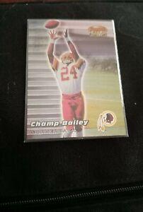 1999 Champ Bailey Bowmans Best Rookie Card Washington Redskins #126