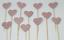 12-Paillettes-Coeur-Cupcake-Toppers-Parti-Decoration-cup-cake-topper-Food-drapeaux miniature 16
