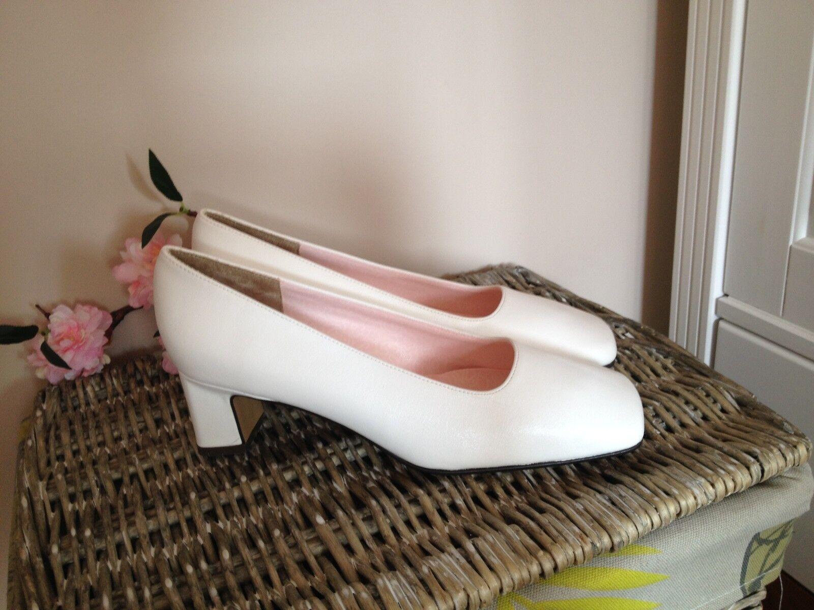 Paradox Blossom Damen Pumps Gr.36,5 Soft Weiß Damen Schuhe Neu