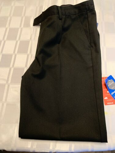 New With Tags Regular Fit Marks And Spencer Boys Black School Trouser Age 14-15