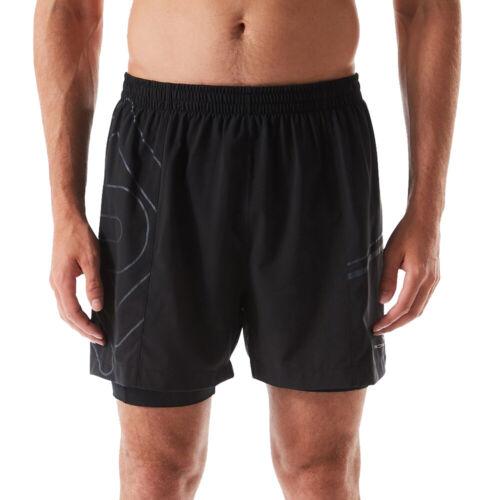 Ron Hill Mens Infinity Marathon Reflective Twin Shorts