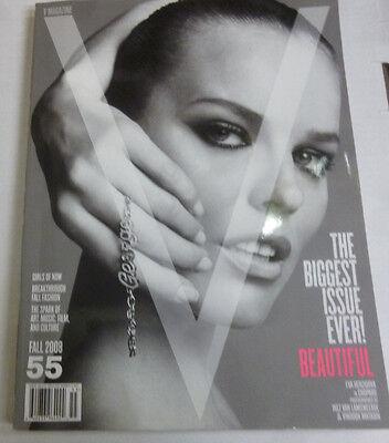 V Art Magazine Eva Herzigova In Copard Fall 2008 NO ML 102913R