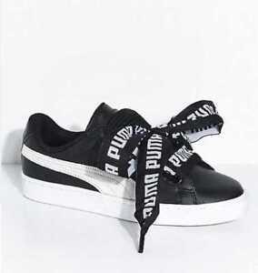 puma basket heart de women's shoes