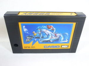 MSX-EXCITING-JOCKEY-Casio-Cartridge-only-Import-Japan-Video-Game-msx
