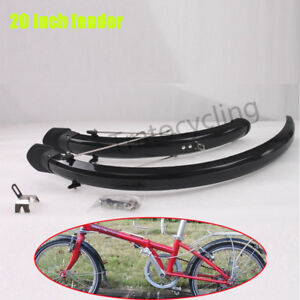 20-034-Folding-Bike-Mudguards-Front-Rear-Bicycle-Fender-Cycling-Mud-Guard-Set-1Pair