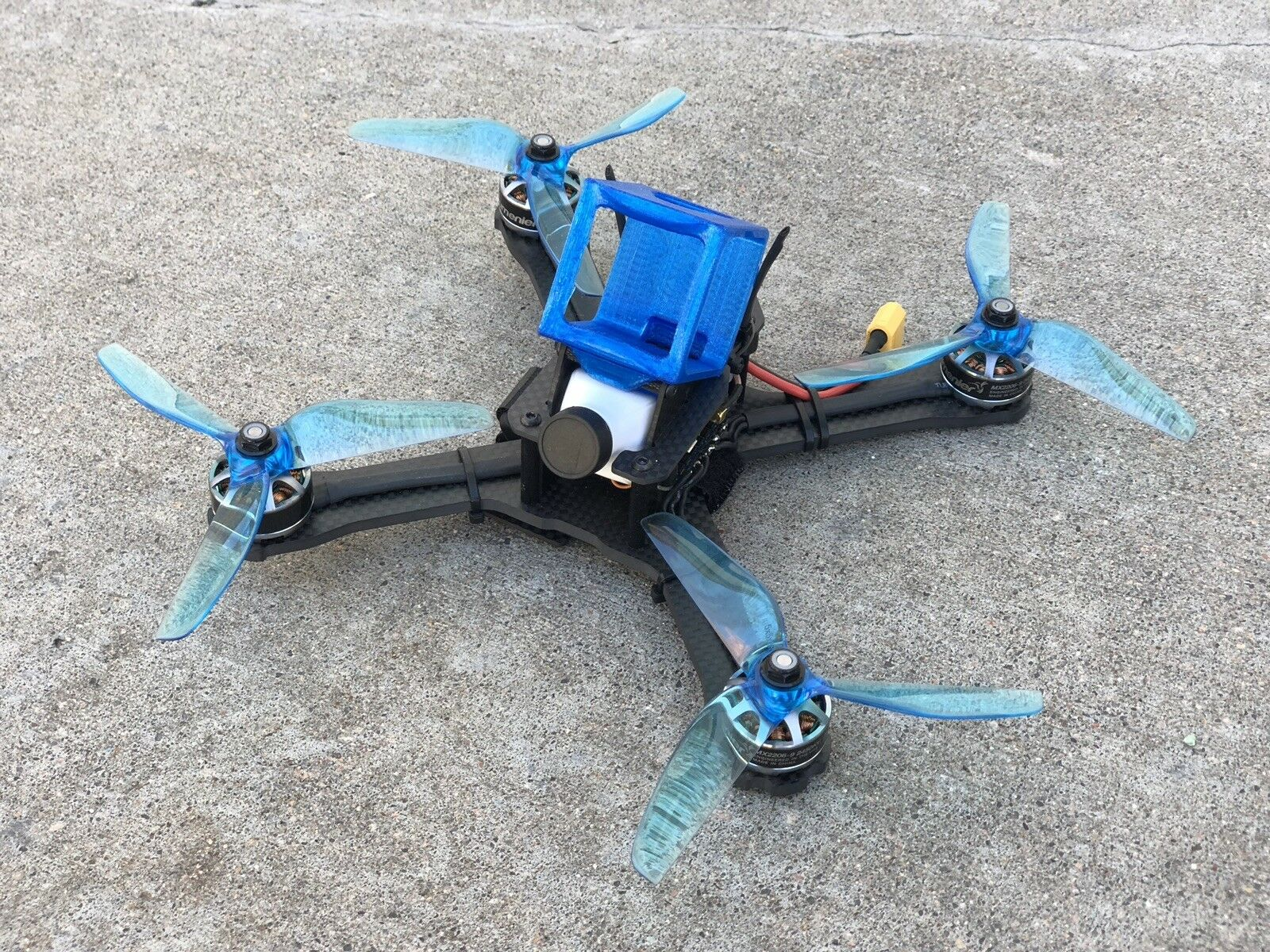 QAV-X CHARPU FPV Racing Quadcopter (4mm) RTF w  DSMX DSMX DSMX Rx d9fdf7