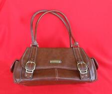 ROSETTI ~ Chocolate Brown Faux Leather Purse Handbag Shoulder Bag ~ NICE!