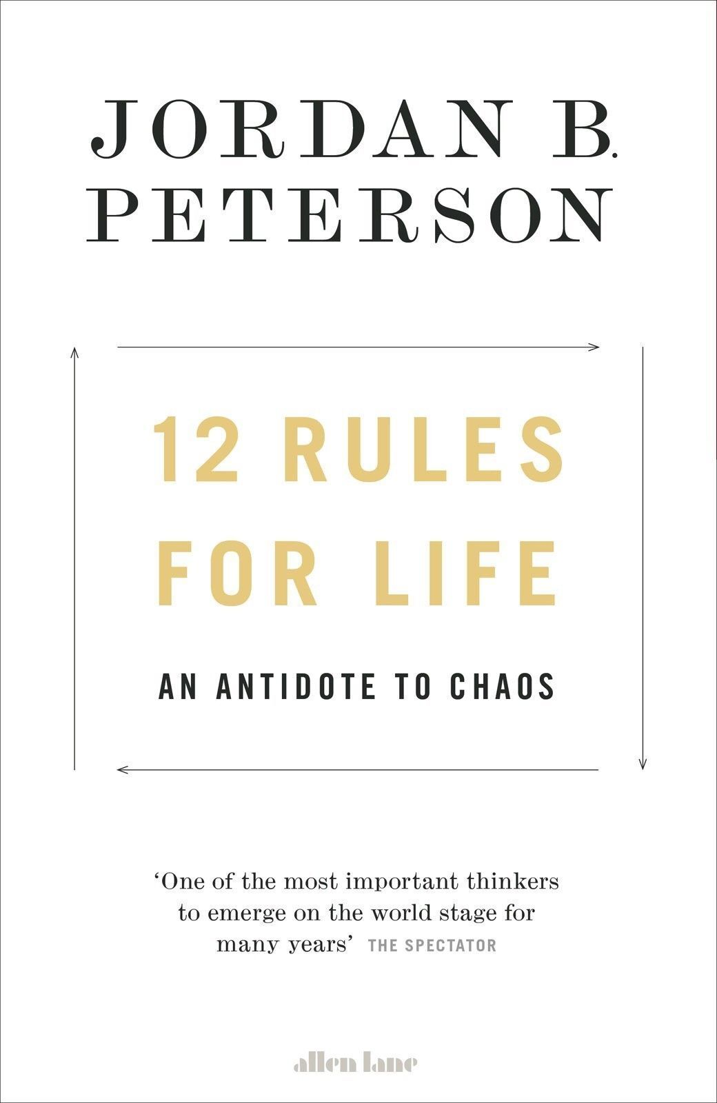 Image result for jordan peterson 12 rules for life
