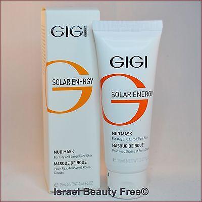 Gigi Solar Energy Mud Mask for oily and large pore skin 75 ml