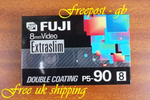 CASSETTES Hi8 VIDEO CAMCORDER TAPES 3 x HIGH QUALITY FUJI P5-90 VIDEO 8mm