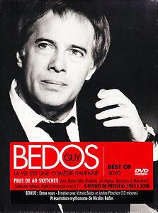 Guy Bedos - La Vie Est Une Comédie Italienne - 3 DVDs - Neu und originalverpackt - Oldenburg, Deutschland - Guy Bedos - La Vie Est Une Comédie Italienne - 3 DVDs - Neu und originalverpackt - Oldenburg, Deutschland
