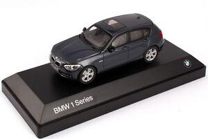 Model Car; BMW 1 Series 5-Door Hatchback  1:43 scale  Dark Blue  80422210023