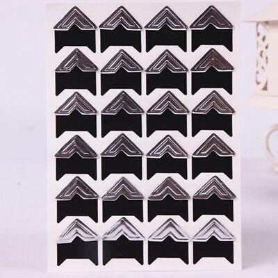 Wholesale 120 Pcs Retro Kraft Corner Sticker Picture Album Photo DIY Craft Home