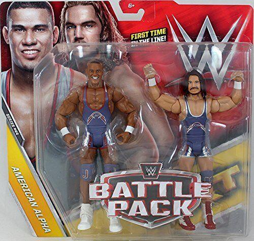 Wwe Chad Gable Jason Jordan Kampf Pack  Serie Serie Serie 44 Wrestling Mattel Actionfigur 871442