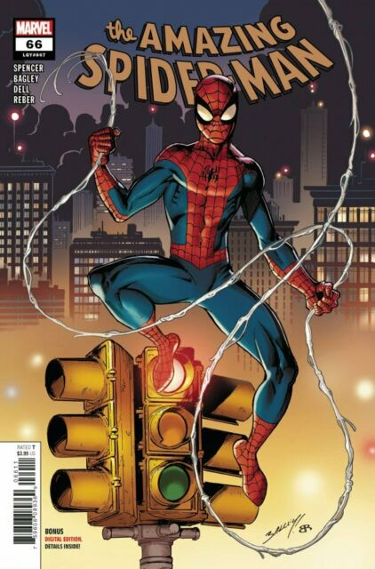 Marvel Comics Amazing Spiderman 66 (LGY 867) - 1st Print (2021) CVR A New