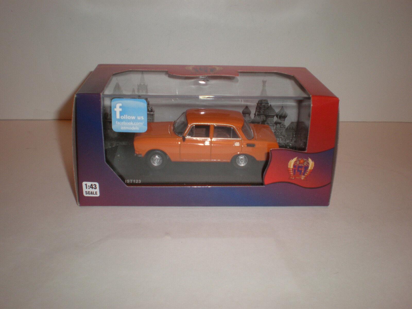 1  43 1977 Moskwitch 2140 apelsinIXO, IST 123