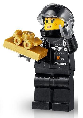 75894 LEGO® Mini Cooper S Rallyefahrer Speed Champions Minifigs sc070