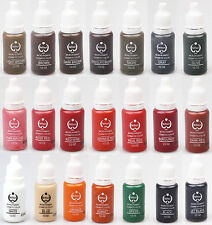 Biotouch tattoo ink 10pcs set permanent makeup pigments 15ml Pick your colors