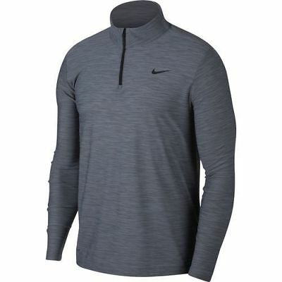 Bright Nike Breathe Dry Dri-fit 1/4 Zip Long Sleeve Shirt Men's Large L Nwt Consumers First gray