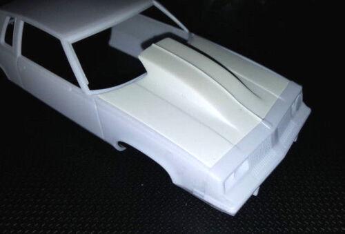 LEX-039-S-SCALE-MODELING-Resin-Outlaw-Hood-039-83-Hurst-Olds-Revell-1-25