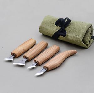 Schnitzmesser-Satz-Geometrische-Schnitzwerkzeuge-Set-Messer-Kerbschnitzmesser